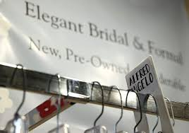 bridal stores frowns without gowns local bridal stores feel aftershocks of