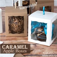 caramel apple boxes wholesale caramel apple boxes available at brp box shop candy