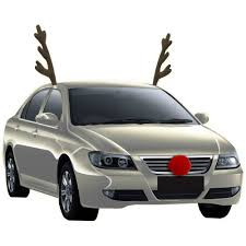 reindeer antlers for car time christmas decor rudolph the nose reindeer rudolph