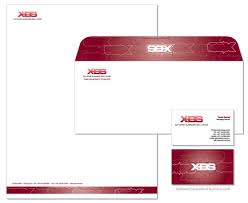 Business Cards And Headed Paper Letterhead Examples And Ideas 60 Cool Stationary Designs