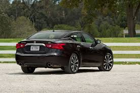 nissan maxima with black rims 2017 nissan maxima sr one week with automobile magazine