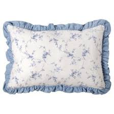 amazon com simply shabby chic denim bolster decorative pillow 22
