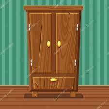 Livingroom Cartoon Cartoon Funny Closed Wardrobe Living Room Wooden Furniture