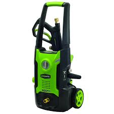 greenworks 1 600 psi 1 2 gpm cold water electric pressure washer