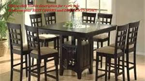 9 Pc Dining Room Set by Coaster Home Furnishings Dining Table Coaster Home Furnishings