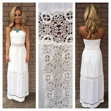 white summer dresses dress white dress lace summer maxi dress wheretoget