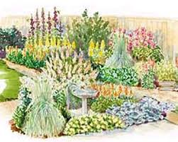 chic ideas designing a flower garden layout perennial flower