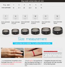 8mm ring size chitronic newest magic smart ring universal for all