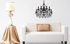 Chandelier Wall Decal Sissy Little Vinyl Wall Decals