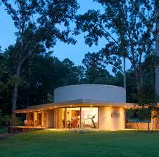frank lloyd wright inspired lake house layout boasting special