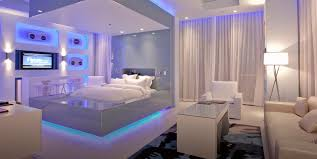 futuristic beds 8 if you can get vip status at the hard rock hotel in las vegas