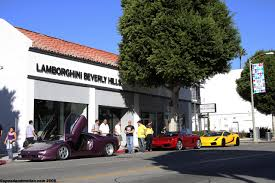 lexus on robertson in beverly hills vid pics lamborghini run from lambo beverly hills to oakley hq