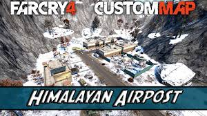 Himilayas Map Far Cry 4 Custom Map 018 Himalayan Airpost By Theanteater Youtube