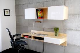 Secretary Desk Diy Furniture Classy And Stylish Floating Desk With Storage