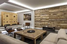 reclaimed wood accent wall wood from recwood planks in living rooms reclaimed wooden planks create a cool accent wall