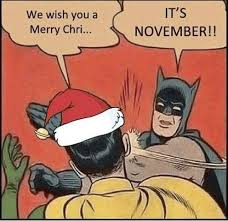 Meme Batman Robin - we wish you a merry chri窶ヲ it箒s november batman robin