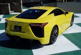 yellow lexus lfa test drive 2011 lexus lfa nikjmiles com
