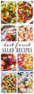 best fruit salad recipes salad recipes and food