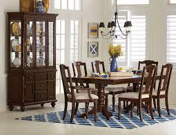 7 piece dining room sets alice 7 piece dining room set cherry leon u0027s igf usa