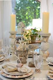themed tablescapes and nautical themed table settings tablescapes