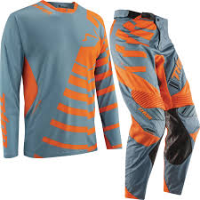 thor motocross jersey thor core 2015 orbit steel orange enduro atv mx jersey and pants