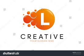 dots letter l logo l letter stock vector 640999438 shutterstock