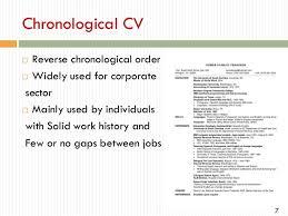 Reverse Chronological Order Resume Example Curriculum Vitae Reverse Chronological Order Research Paper