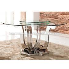 steel top dining table stainless top dining table metal dining room tables with goodly