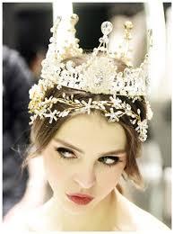 wedding tiaras baroque big king crown headband headpiece bridal
