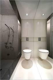 interior inspiring black and white bathroom decoration with grey