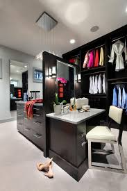 what is a walk in closet photos hgtv contemporary gray walk in closet with hexagonal shelves