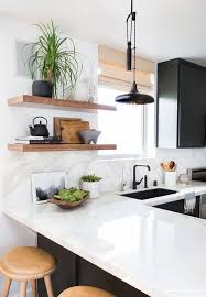 Wood Kitchen Shelves by Best 25 White Wood Kitchens Ideas On Pinterest Contemporary