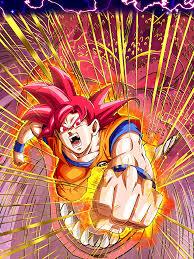 fist from the heavens super saiyan god goku dragon ball z dokkan