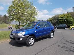 kia sportage xe 2 0 4x4 manual stunning blue 2006 needs ayyention