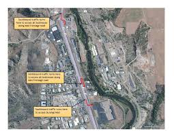 Denver Traffic Map New Traffic Configuration In Place At Us 160 And Sawyer Drive U2014