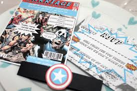 dc comic wedding invitations