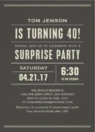 male birthday invitation 40th birthday by jcbabycakes