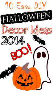 10 easy diy halloween decor ideas