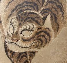 japanese edo p nagasaki tiger scroll shuseki item 1098500