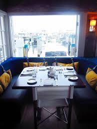 a tweaked dining room happy home blue delightful velvet u shaped