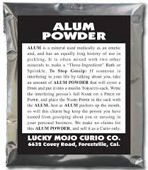 alum photo herb magic catalogue alum powder