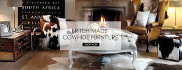 cowhide footstools cow hide seating dining chairs bar stools