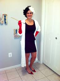 cruella deville costume from last halloween holiday pinterest
