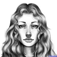draw a beautiful female face drawing art u0026 skethes