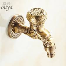 Antique Brass Bathroom Fixtures by Decorative Bathroom Faucets All Metal Kitchen Faucets Antique