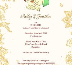 Invitation Greetings Indian Engagment Betrothal Ceremony Invitation Wordings