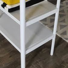 Ladder Desk With Shelves by White Twin Loft Bed With Desk Shelves Free Shipping Today