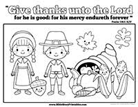 religious thanksgiving coloring pages free coloring