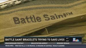 battle saints bracelets bracelets battle depression and brain injuries