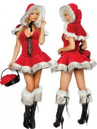 womens santa costume 36 89 wrap christmas present costume santa